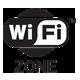 Gratis WiFi zone in de Kampeerboerderij